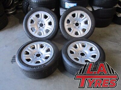 4x 17 Ford Territory Rims Wheels Suits Falcon BA BF XR6 XR8 Hilux Goodyear TYRES