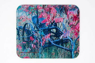 Mousepad, Antique Cultivator Design