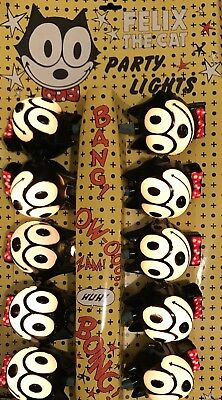 vintage felix the cat party lights christmas tree lights ornaments