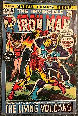 Iron Man #52 (Nov 1972, Marvel)