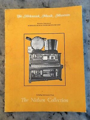 The Mekanisk Musik Museum 1973 Catalog of Vintage Mechanical Music Devices