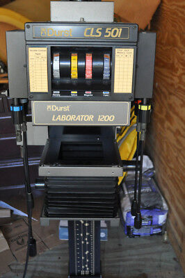 Durst Laborator 1200 With Cls 501 Photo Enlarger  With Lens. Timer And Power Sup