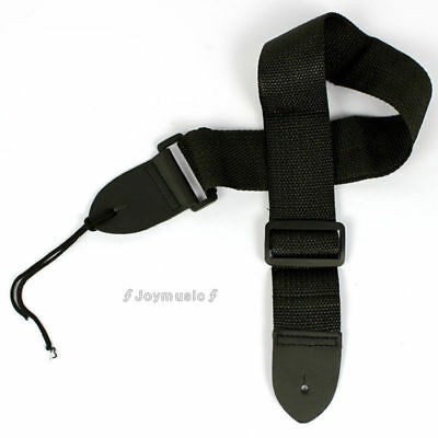 Nylon Adjustable black Guitar Strap Acoustic Electric Guitar Bass Strap Belt