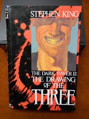 STEPHEN KING -The Dark Tower 2: The Drawing of the Three 1st Edition!