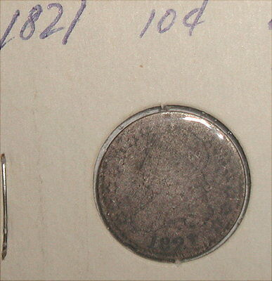 1821 Capped Bust Dime