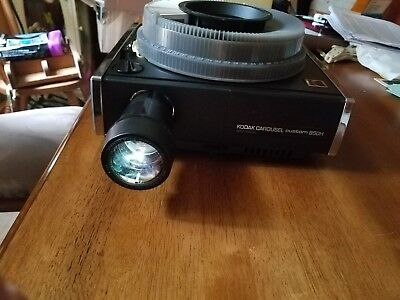 Kodak 850H Custom Slide Projector With Remote Tray Lens Carousel Af Auto Focus