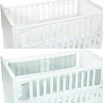 Breathable Baby TWO SIDED MESH LINER Infant Cot/Cotbed Bumpers Nursery BN