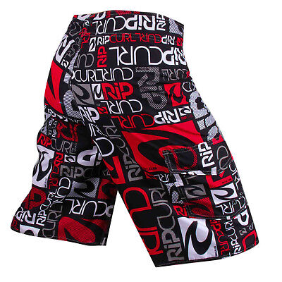 AU RIP CURL Childrens/Kids CASUAL BEACH PANTS BOY'S SURF BOARDSHORTS SIZE 8-14