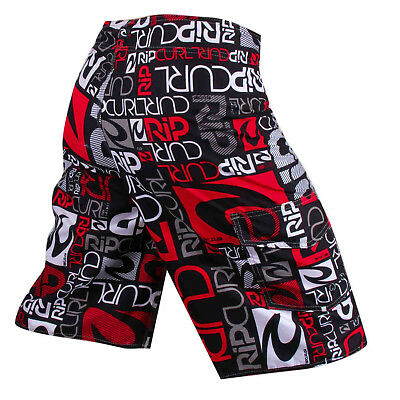 RED RIP CURL Childrens/Kids CASUAL BEACH PANTS BOY'S SURF BOARDSHORTS SIZE 8-14