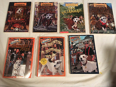 lot WISHBONE Adventures SUPER MYSTERIES Haunting Hathaway House DOG OVERBOARD