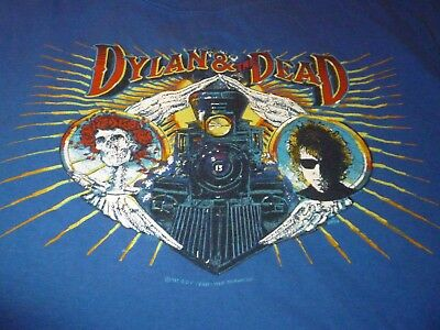 Bob Dylan / Grateful Dead Vintage Shirt ( Used Size XL ) Very Good Condition!!!