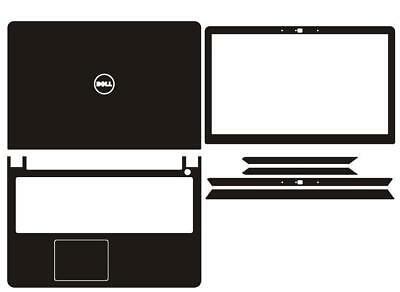 Laptop Carbon Sticker Skin Cover Protector for Dell Inspiron 15-7000 7557 7559