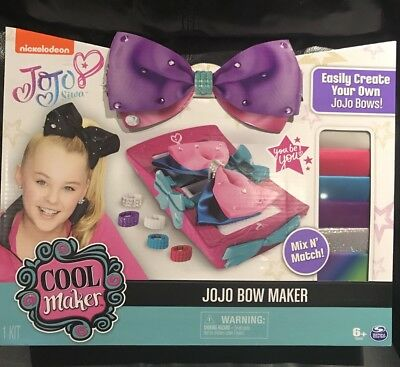 Cool Maker Jojo Siwa Bow Maker Toys R US EXCLUSIVE IN HAND VHTF