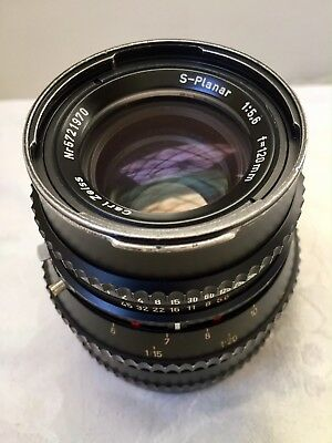 Hasselblad S-Planar 120mm f/5.6 Carl Zeiss Lens for 500 series cameras