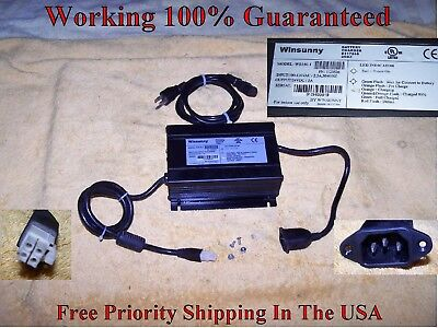 Invacare Pronto M91,M94 Sure Step Wheelchair Battery Charger Winsunny WS150-1
