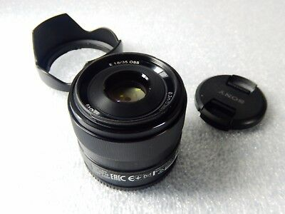 *Great Condition * SONY E 35mm F1.8 OSS Black SEL35F18