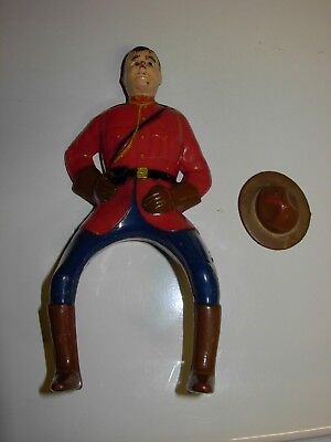 Vintage 1950-60's ? Breyer ? Canadiand Mountie figure with Hat