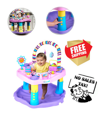 046942e01 EXERSAUCER BABY BOUNCER Jumper Learning Activity Center Girl Child ...