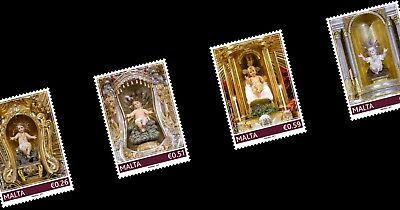 Malta Stamps MNH Christmas 2017 Issued 17th November 2017