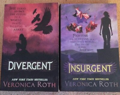 Divergent And Insurgent by Veronica Roth (Paperback, 2012)