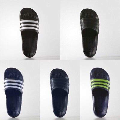 Brand New Adidas Unisex Duramo Slides Slippers Sandals size 5 6 7 8 9 Many Color
