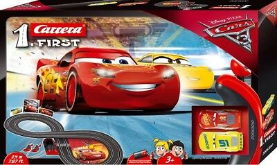 NEW Carrera 1St Disney Cars 3 Slot Set, Battery Operated from Mr Toys