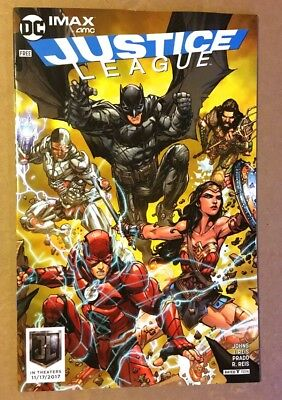 Justice League Exclusive IMAX AMC Comic Book. HOT Limited