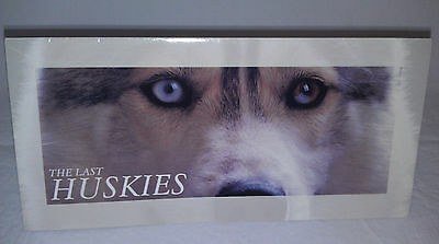 Australian stamp set The Last Huskies, a card plus $3.10 face value stamps