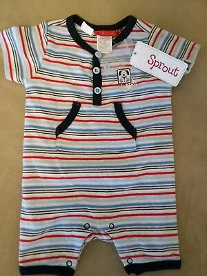 SPROUT baby boys bodysuit size 00 BNWT