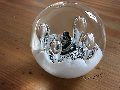 Paperweight Briefbeschwerer Caithness Scotland Moonflower