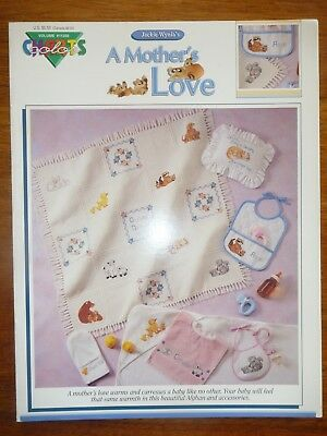 Colour Charts Cross Stitch Pattern Leaflet #11202 - A Mother's Love- Baby Afghan
