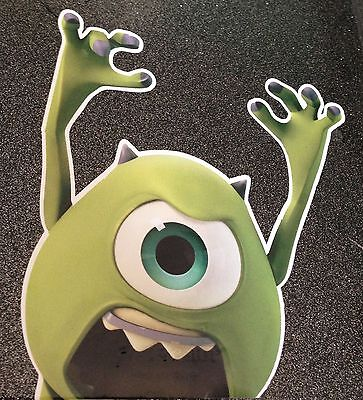 MIKE MONSTERS Inc. UNIVERSITY PEEPER VINYL STICKER JDM DRIFT FUNNY CAR FREEPOST