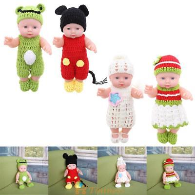 Christmas Gift Lifelike home simulation baby changing clothes bathing dolls toy