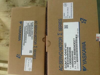 Yaskawa servo motor SGM7A-04AFA61 NEW IN BOX!!*via DHL or EMS!!