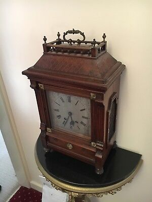 Victorian Walnut Clock