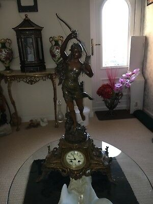 Antique Lady Clock
