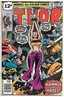 THOR #279 (1979 vf/nm 9.0) Price guide value in this grade $8.00 (£6.00)