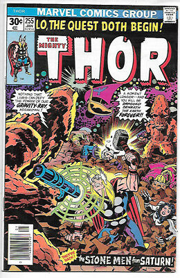 THOR #255 (1977 vf/nm 9.0) Price guide value in this grade $8.00 (£6.00)
