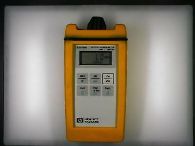 HP E5970A Optical Power Meter in good operating condition.