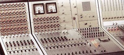 RFZ MP4084 vintage analog Mischpult Rundfunk mixing-console Neumann INFORMATION