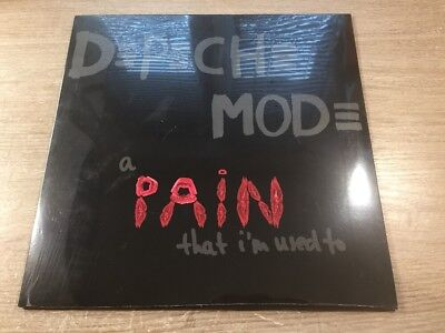 SEALED 12 MAXI Limited Edition Depeche Mode A Pain That I'm Used To VINYL 2005