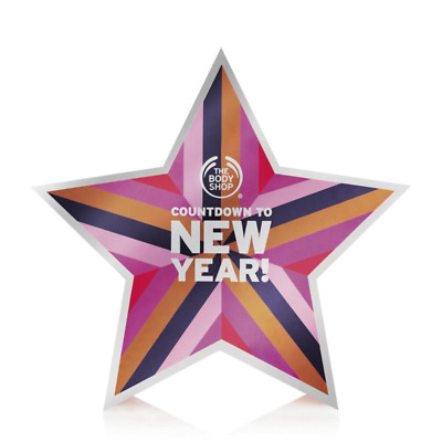 Body Shop Kalender Countdown to New Year 2017