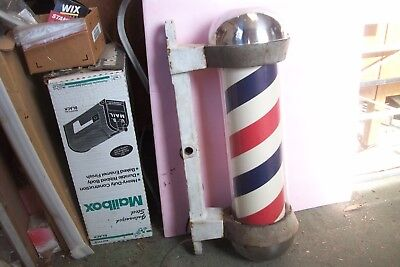 Koken Cast Iron Barber Pole / Sign