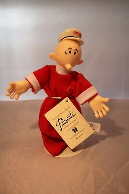 Vintage Popeye Sweet Pea Plush Doll 1985 w/Tags by Presents