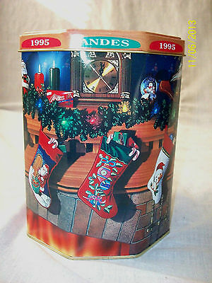 Andes Candies 1995 Christmas tin