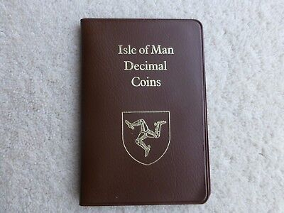 Collectable Isle Of Man Decimal Coin Set 1982 Good Condition