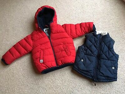 Boys Next Coat And Body warmer - 12 to 18 Months