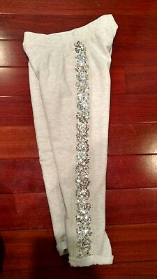 L.O.G.G  by H& M Girls Sequin Sweatpants Size 4-5Y
