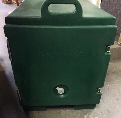 Cambro Food Carrier. INSULATED FOOD PAN CARRIER. Green NSF - 300MPC.