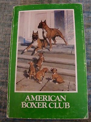 VINTAGE AMERICAN BOXER CLUB 1983 368 PAGE CATALOGUE HUNDREDS pics KENNELS & DOGS